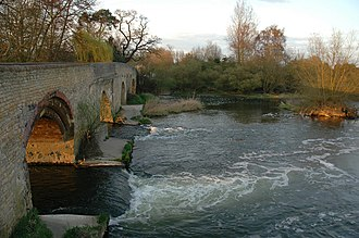 Harrold, Bedfordshire - Image: Harrold Bridge