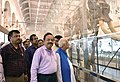 Harsh Vardhan along with the Governor of West Bengal, Shri Keshari Nath Tripathi visiting after inaugurating the renovated Zoological and Botanical galleries, at Indian Museum, in Kolkata.JPG