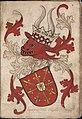 Hartoge van Cleue - Hertog van Kleef - Duke of Cleves - Wapenboek Nassau-Vianden - KB 1900 A 016, folium 07r.jpg