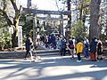 Hatsumoude at a local shrine in Japan.jpg