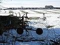 Hay making machinery, Denton - geograph.org.uk - 1162375.jpg