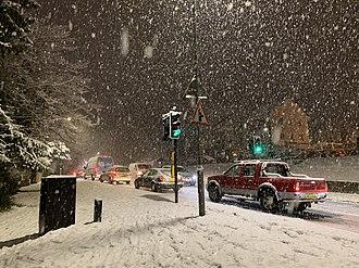 Hazlemere - Hazlemere in the snow
