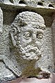 Head of a male deity or a representation of one of the days of the week, from Hatra, Iraq. 2nd-3rd century CE. Sulaymaniyah Museum.jpg