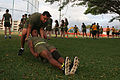 Headquarters Battalion conducts battalion physical training 150337-M-QA266-007.jpg