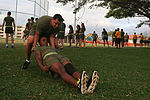 Headquarters Battalion conducts battalion physical training 150337-M-QA266-007.jpg