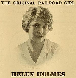 Helen Holmes - Advertisement (1916)