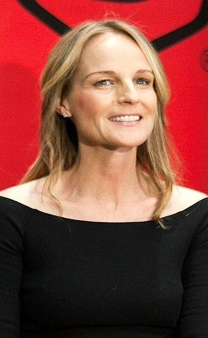 English: Actress Helen Hunt at Grand Rapids in...