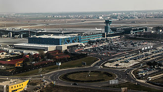 Henri Coandă International Airport - Image: Henri Coandă International Airport, March 2013