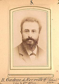 Henri Gadeau de Kerville en 1884 (26 ans).JPG
