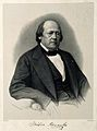 Henri Milne Edwards. Lithograph by Barry after P. Petit. Wellcome V0001744.jpg