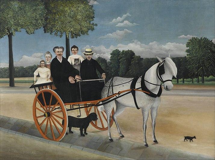 Henri Rousseau, dit le Douanier - La Carriole du père Junier - Google Art Project.jpg