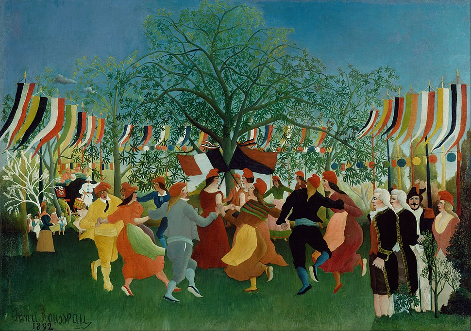 Henri Rousseau (French) - A Centennial of Independence - Google Art Project