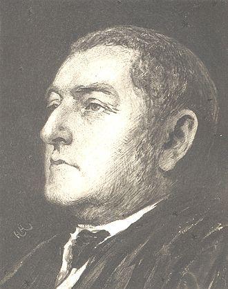 Henry Bradshaw (scholar) - Portrait by Hubert von Herkomer