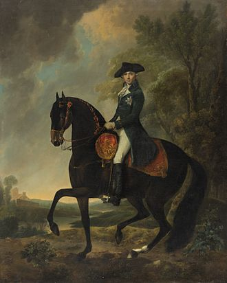 Prince Henry, Duke of Cumberland and Strathearn - Equestrian portrait by David Morier around 1765