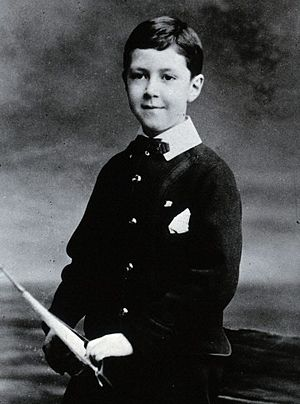 Henry Hallett Dale - Image: Henry Hallett Dale as child