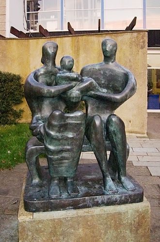 The Barclay School - Image: Henry Moore, Family Group (1950)