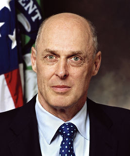 Henry Paulson 74th United States Secretary of the Treasury