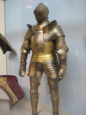 Greenwich armour - Gilded Greenwich harness of King Henry VIII