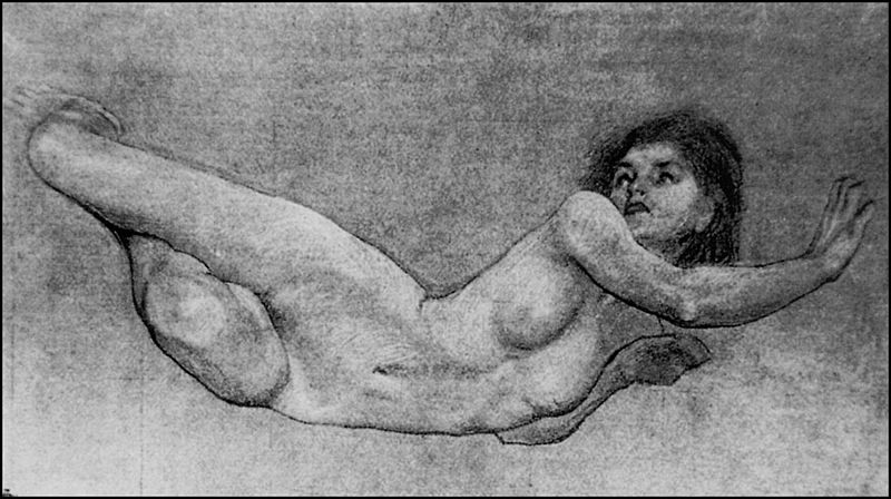 File:Herbert James Draper, Figure Study for The Sea Maiden.jpg