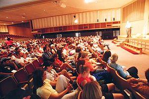 Southern Nazarene University - Inside Herrick Auditorium
