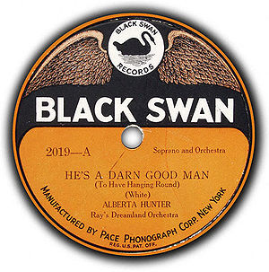 Black Swan Records - 1921 record by Alberta Hunter