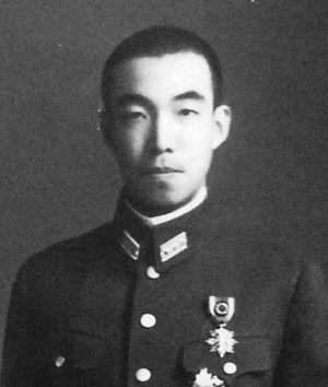 Morihiro Higashikuni - Prince Higashikuni Morihito in 1943