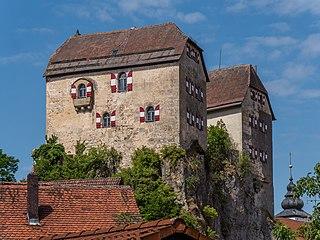 Hiltpoltstein Castle Architectural heritage monument in Landkreis Forchheim, Bavaria, Germany