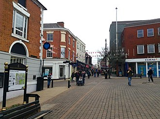 Hinckley - Image: Hinckley Town Centre