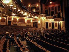 Interior Of The Hippodrome Theater In Baltimore After Its Renovation 2004