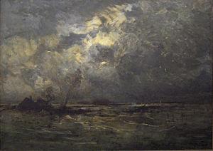 Hippolyte Boulenger - The Inundation