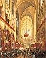Hippolyte Sebron - Baptême De Monseigneur Le Comte De Paris Dans L'Eglise Notre Dame De Paris 2 Mai 1841.jpg