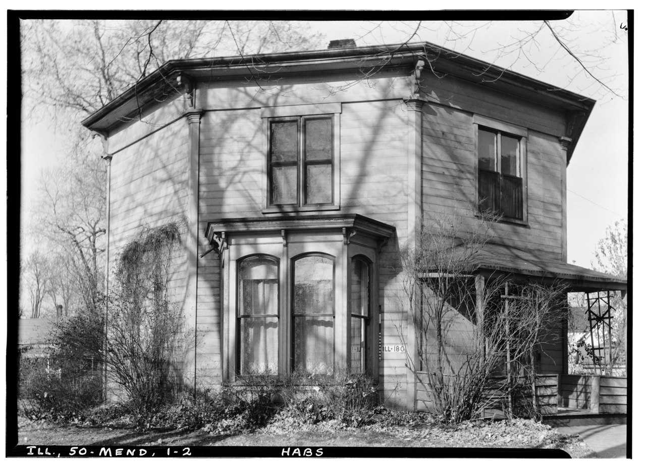 Historic Home Elevation : File historic american buildings survey richard grant