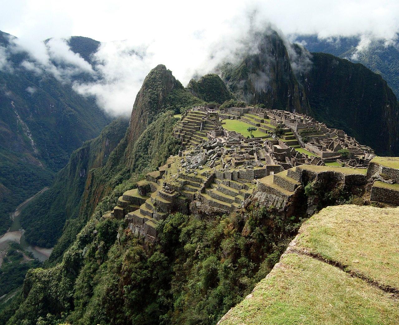Historic Sanctuary of Machu Picchu perfect view.jpg
