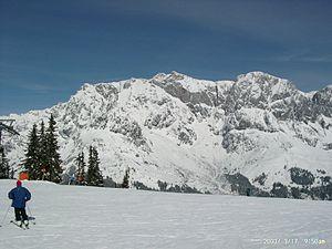 Hochkönig - Image: Hochkoenig From Schneeberg