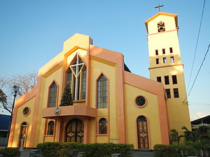 Santo Tomas, La Union - Shrine of Nuestra Señora del Mar Cautiva Parish Church