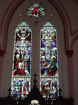 A. L. Moore - Image: Holy Trinity Church east window