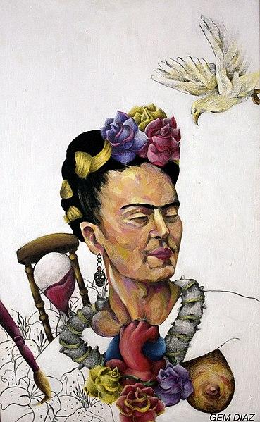 File:Homenaje a Frida Kahlo.jpg