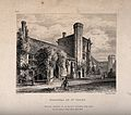 Hospital of St. Cross, Winchester, Hampshire. Etching by J. Wellcome V0014612.jpg