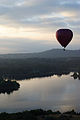 Hot air balloon over Lake Burley Griffin 1.JPG