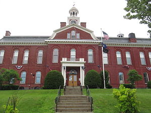 Aroostook County Courthouse and Jail - Image: Houlton ME Aroostook County Courthouse