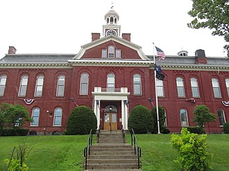 Aroostook County, Maine - Image: Houlton ME Aroostook County Courthouse