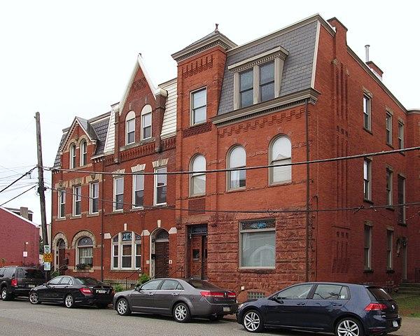 Houses on Sidney Street