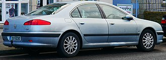 Peugeot 607 - 2001 Peugeot 607 SE registered in Dublin, Ireland.