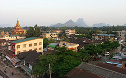 Skyline of Hpa-An