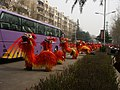 Huangdi Festival, 2006, Lion Dancers on Renmin Lu.jpg