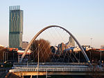 The Hulme Arch (with the Beetham Tower in the ...