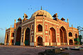 Humayuns Tomb (under re-construction).JPG