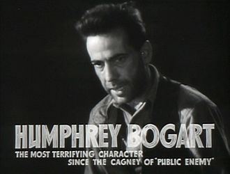 Crime film - Humphrey Bogart in The Petrified Forest (1936)