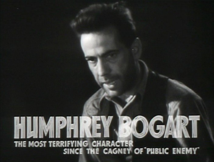 Humphrey Bogart in The Petrified Forest film trailer