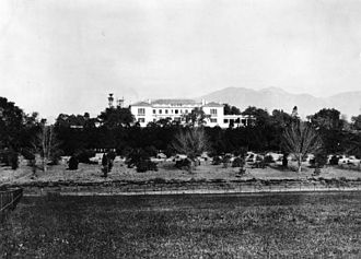 Henry E. Huntington - The Huntington Mansion, 1915; now the centerpiece of the Huntington Library.